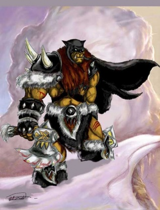 Roxxar the beastmaster art picture