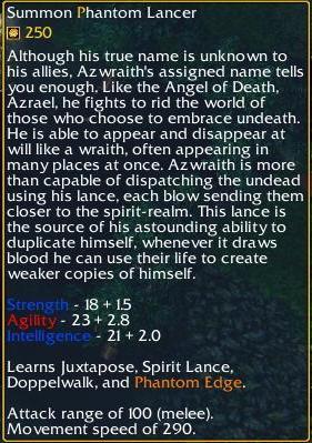 Phantom Lancer Stats