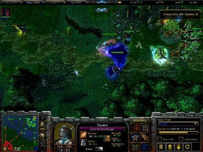 Defens of The Ancients Allstars Shendelzare Silkwood, the Vengeful Spirit game screentshot